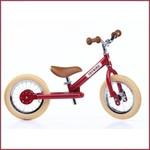 Trybike Trybike steel vintage loopfiets Rood