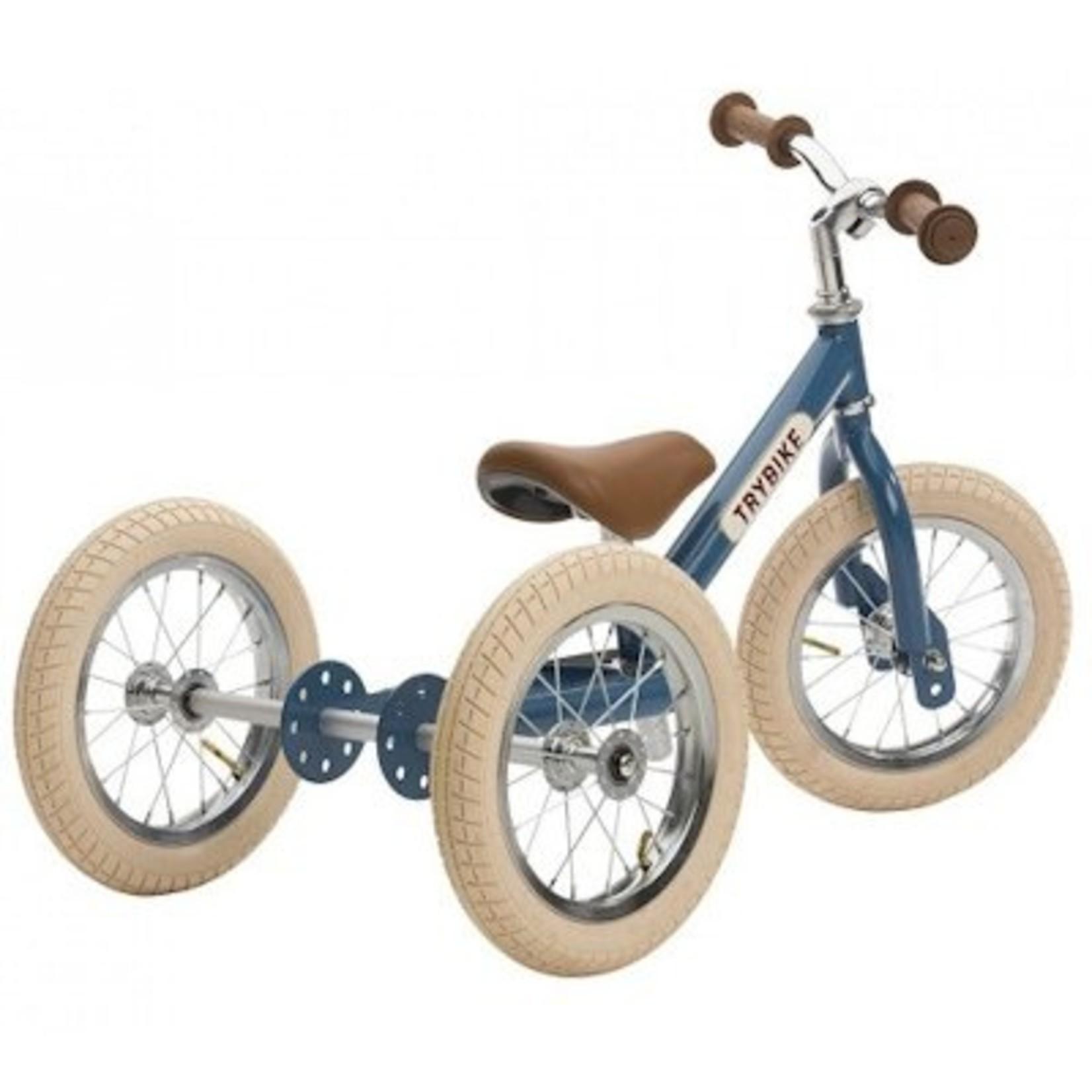 Trybike Trybike, steel vintage loopfiets Blauw