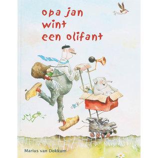 Art Revisited VOF Opa Jan wint een olifant