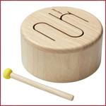Plantoys Solid Drum (naturel)