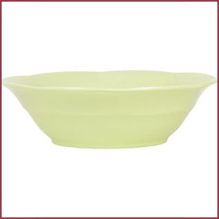 Rice Rice Melamine Soup Bowl in Mint