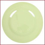 Rice Rice Melamine Rond Diner Bord in Mint