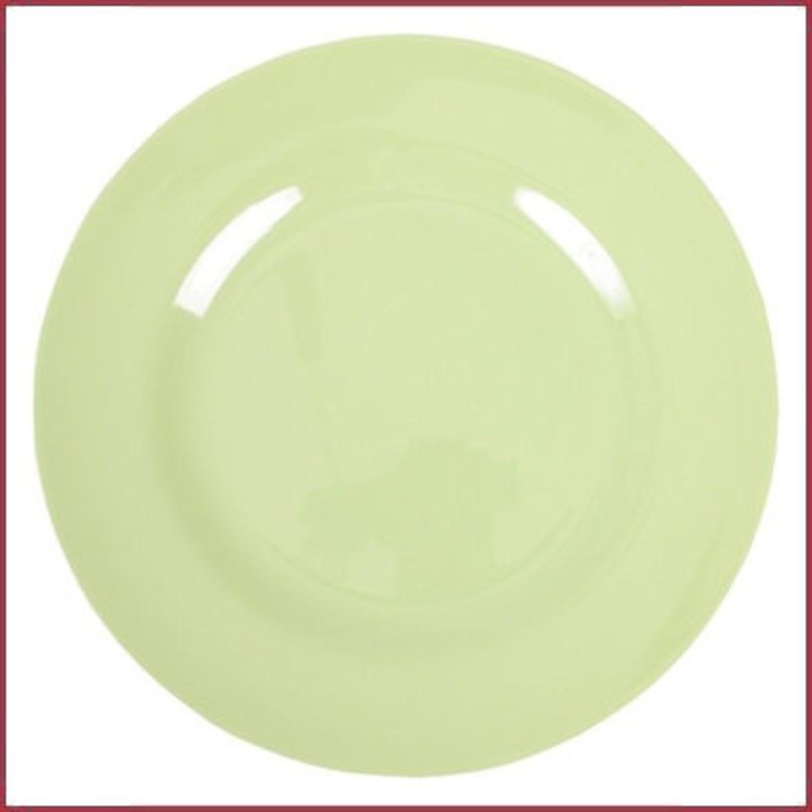 Rice Rice Melamine Rond Diner Bord in Mint