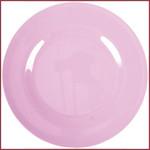Rice Rice Melamine Rond Diner Bord in Dark Pink