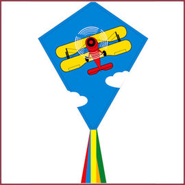 Vlieger Eddy Biplane 70cm