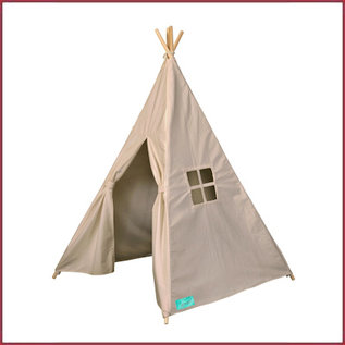 Souza for kids Tipi tent taupe canvas