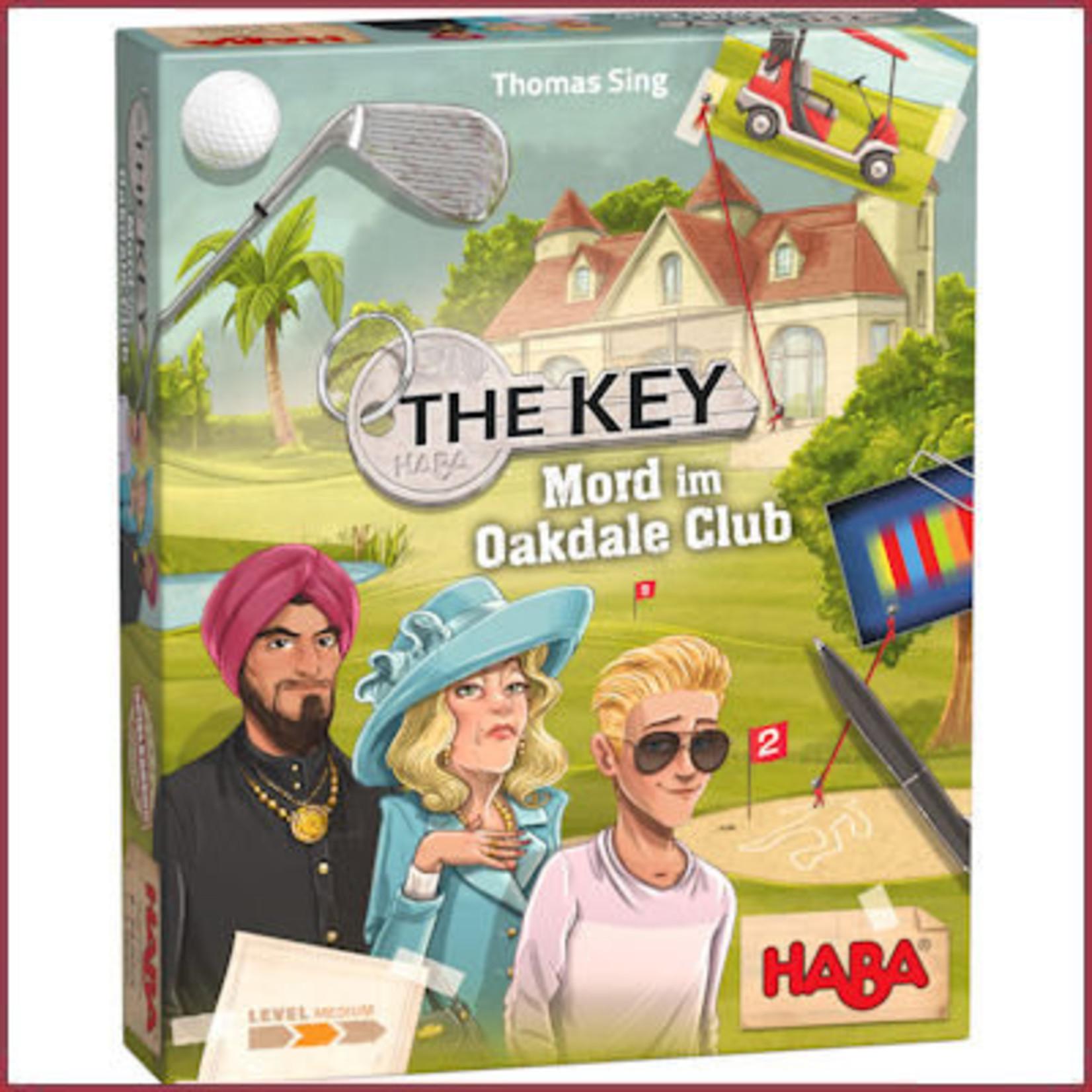 Haba The Key - Moord in de Oakdale Club