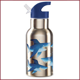 Crocodile Creek 4Kids stainless steel bottle shark