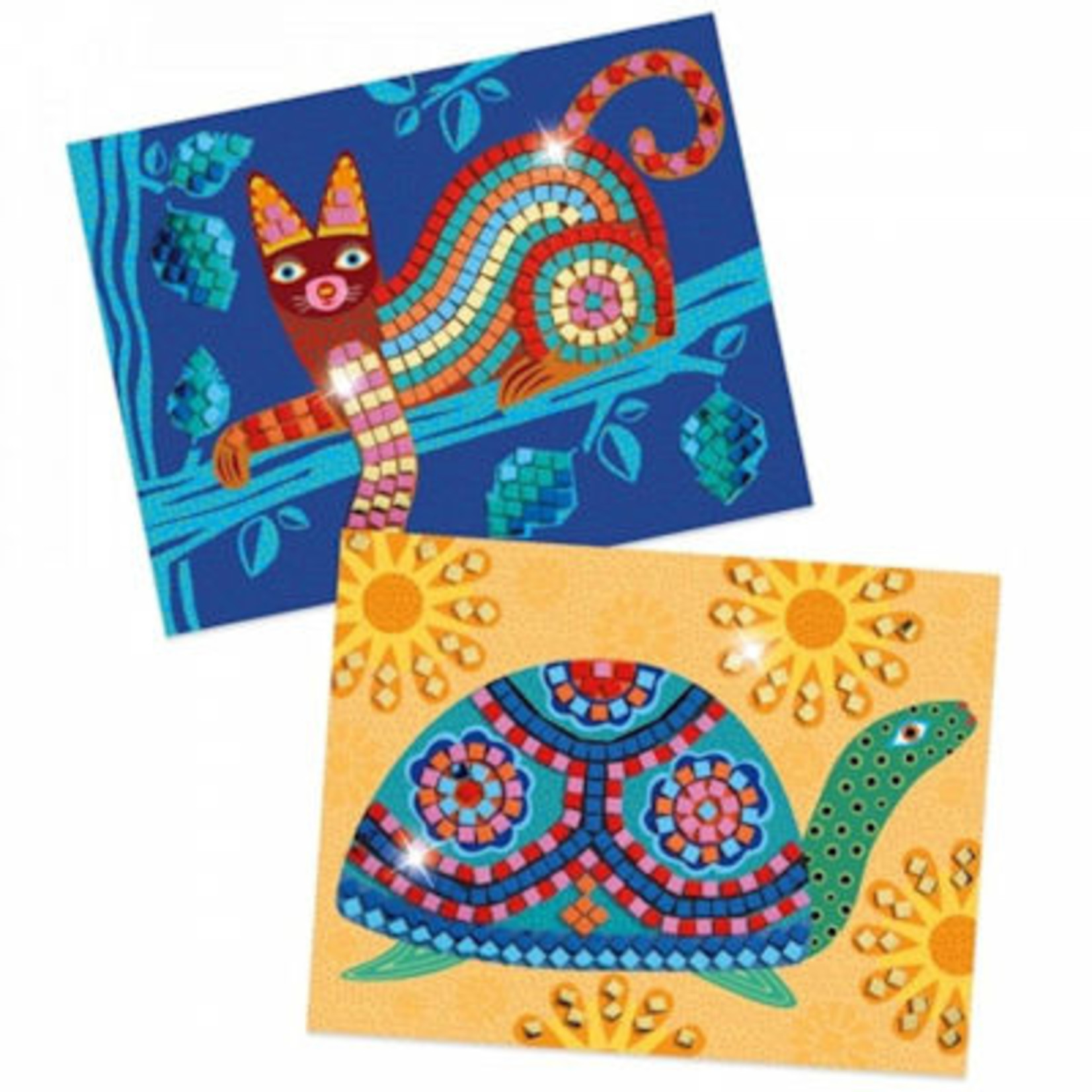 Djeco Knutselset Mozaïek plakken Oaxacan en schildpad