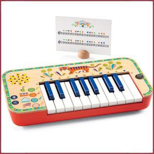 Djeco Synthesizer - Keyboard Animambo