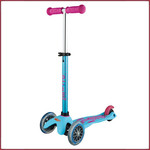 Micro Step Mini Micro step Deluxe turquoise/roze