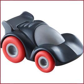 Haba Mijn eerste Knikkerbaan Rollebollen  - Antracietkleurige sportwagen