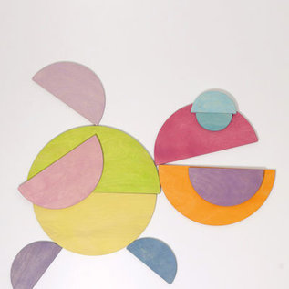 Grimm's Grote halve cirkels, pastel