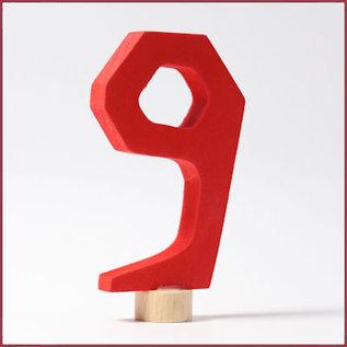 Grimm's Decoratieve cijfers afgehoekt