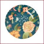 Rice Rice Melamine klein bord met Selma's Herfstbloemen print