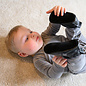 Lodger Lodger leren babyslofjes kleur Zwart