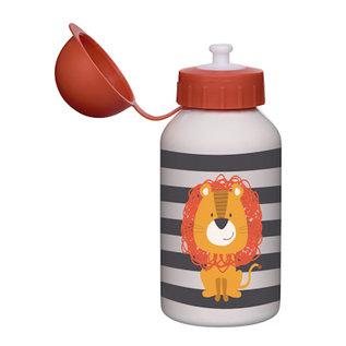 Sigikid Drinkflesje Leeuw edelstaal