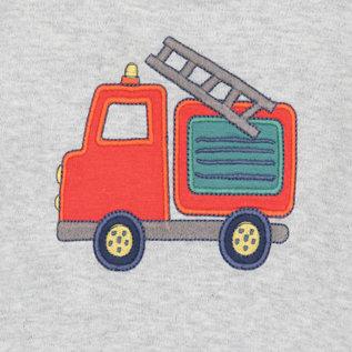 Sigikid Truitje met brandweerauto met lange mouw