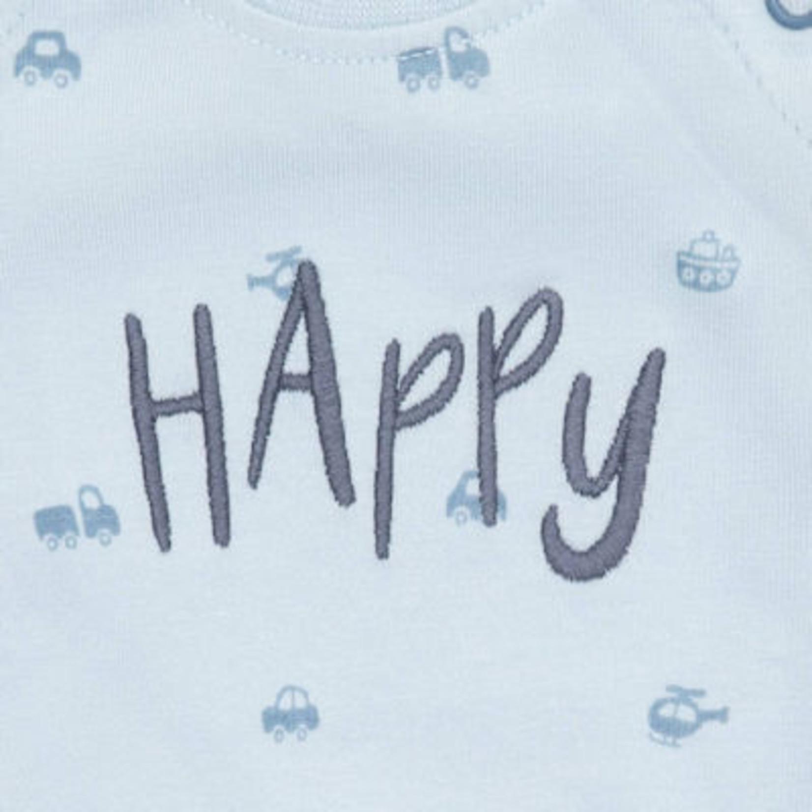 Sigikid Babytruitje blauw Happy