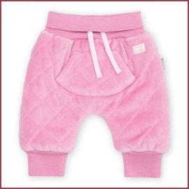 Sigikid Babybroekje nickyvelours roze