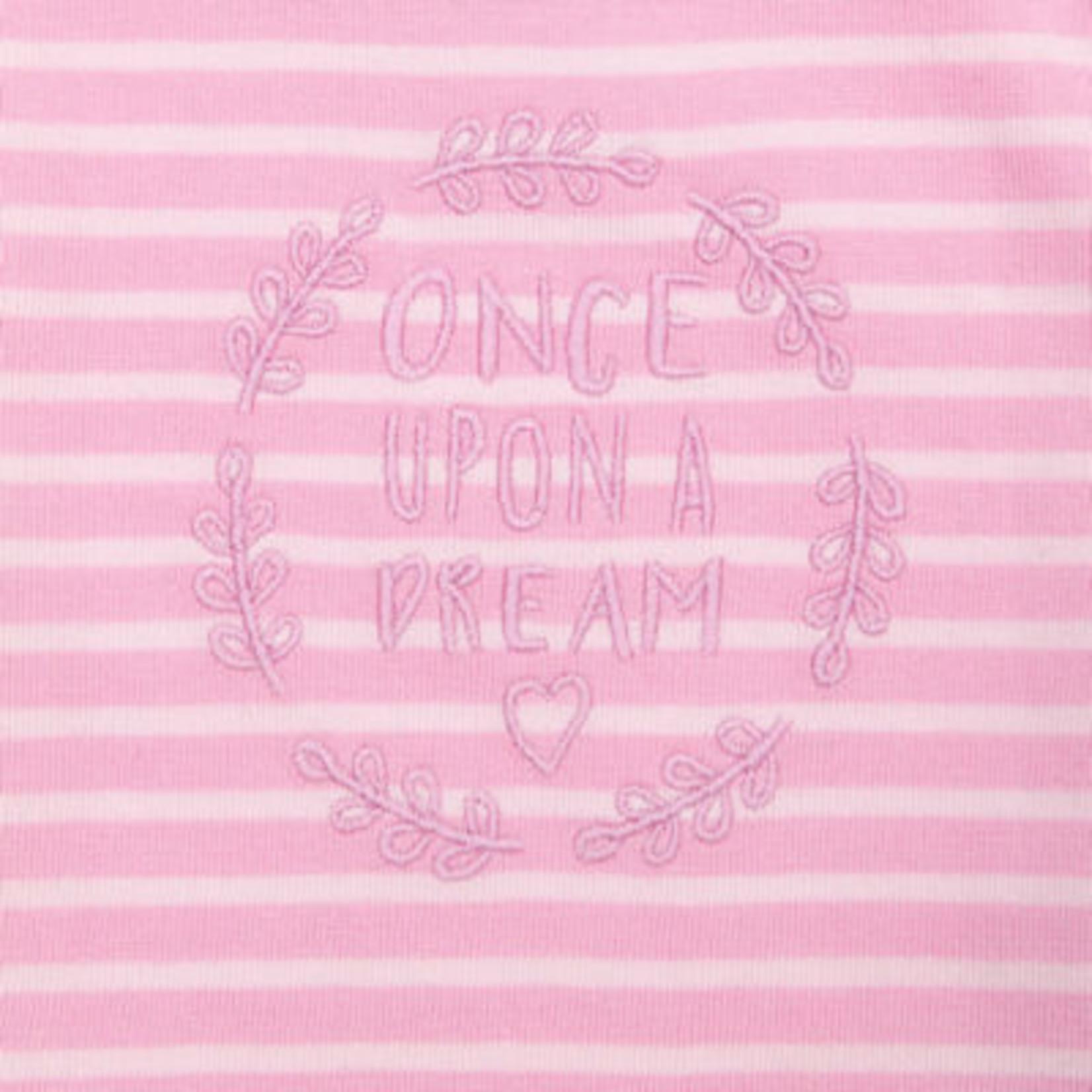 Sigikid Babytruitje gestreept lange mouw roze