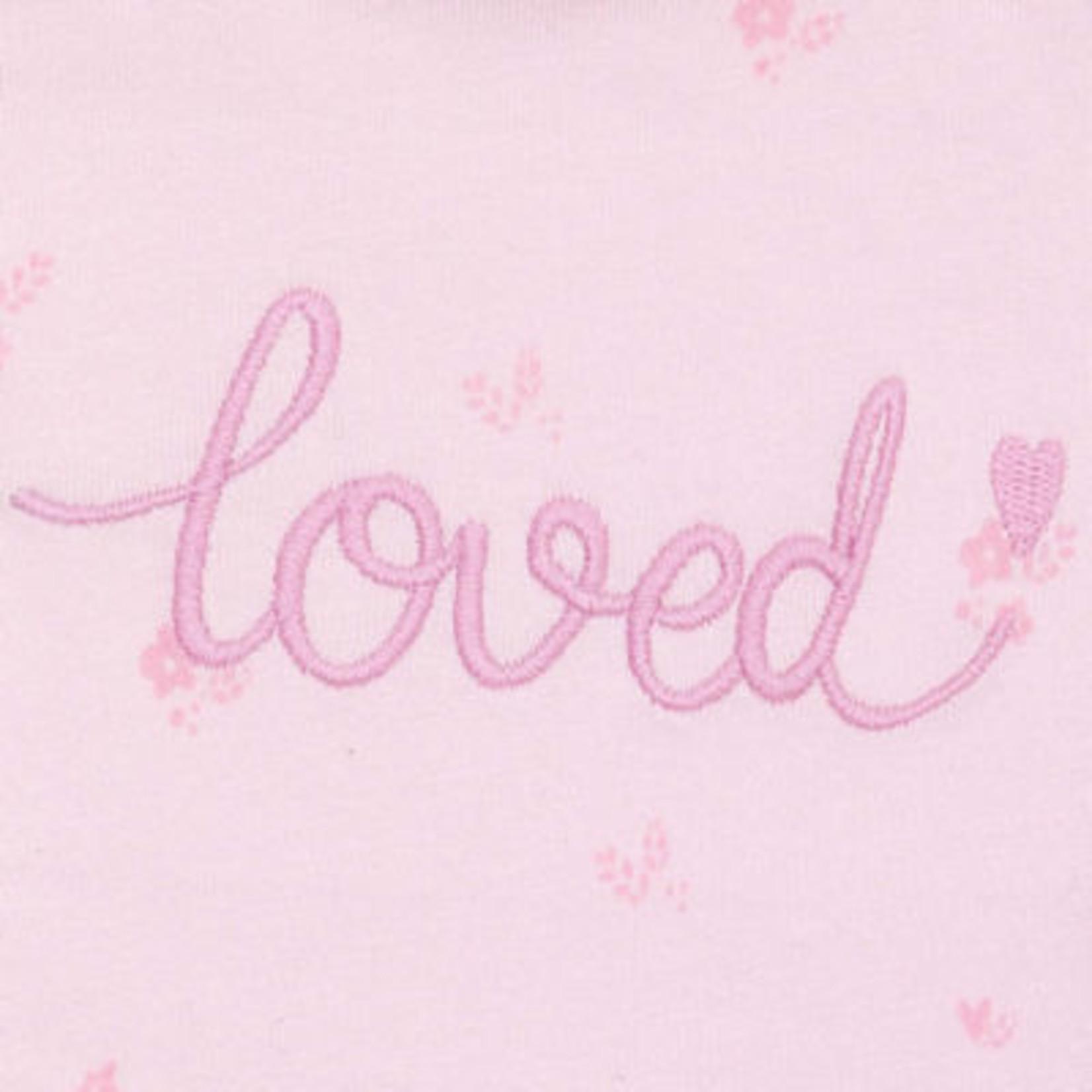 Sigikid Babytruitje Loved roze met lange mouw
