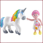 Haba Little friends Amira & Ruby Regenboog