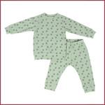 Lodger Lodger Pyjama Nomad Rib Silt Green