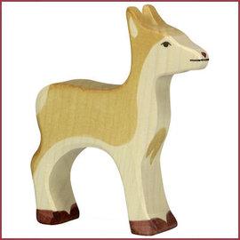 Holztiger Hert, hinde 10 cm