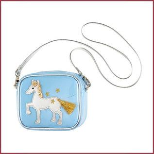 Souza for kids Tas Marith met paard, blauw