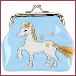 Souza for kids Portemonnee Marith met paard, blauw