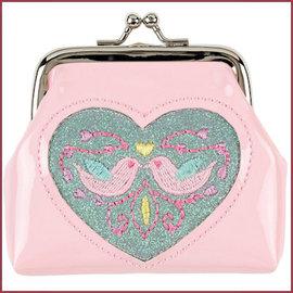 Souza for kids Portemonnee Ylva vogels, licht roze