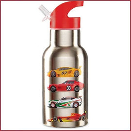 Crocodile Creek 4Kids stainless steel drinkfles Race auto