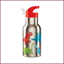 Crocodile Creek 4Kids stainless steel drinkfles Dinosaurus