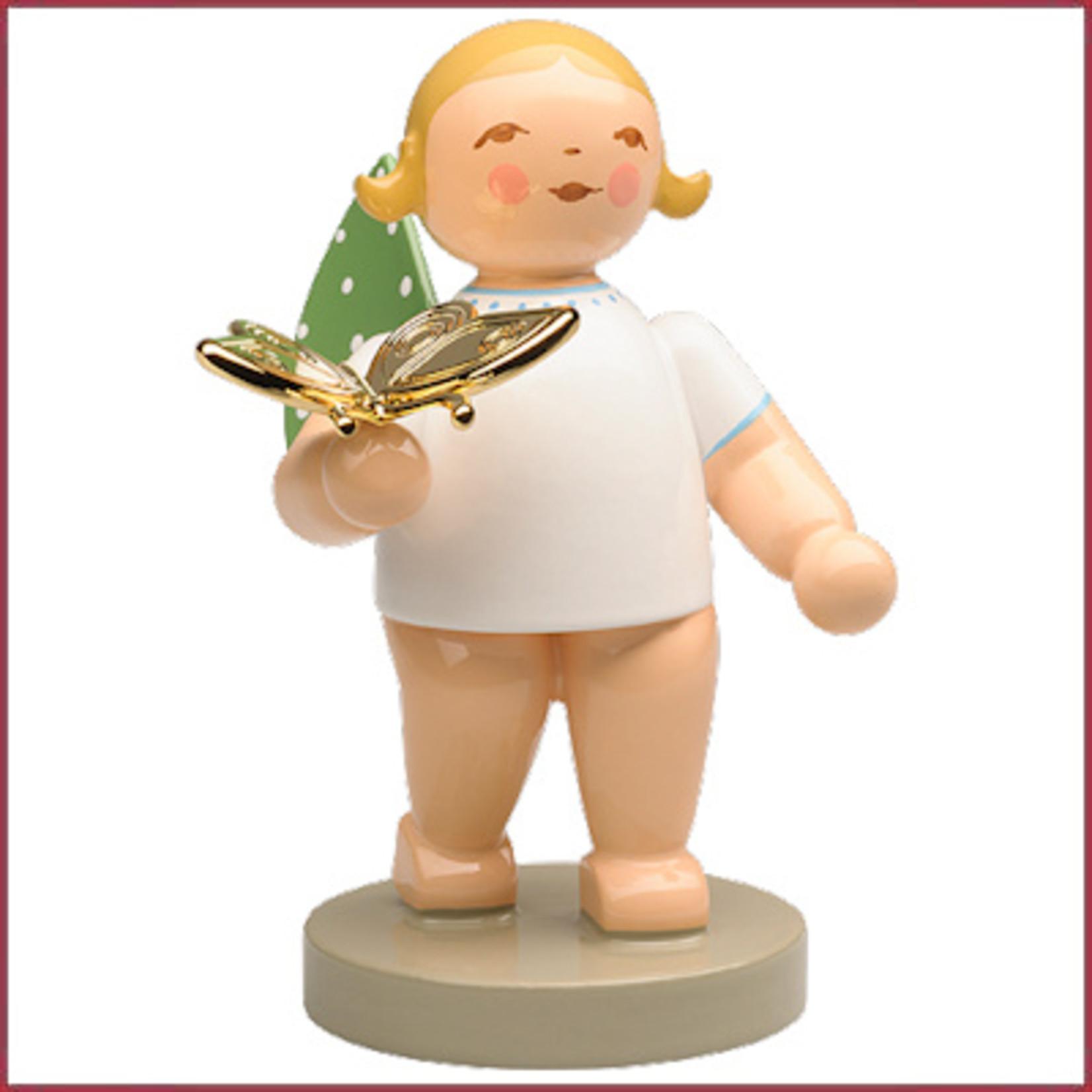Wendt & Kühn Dromer, Engeltje met vergulde vlinder