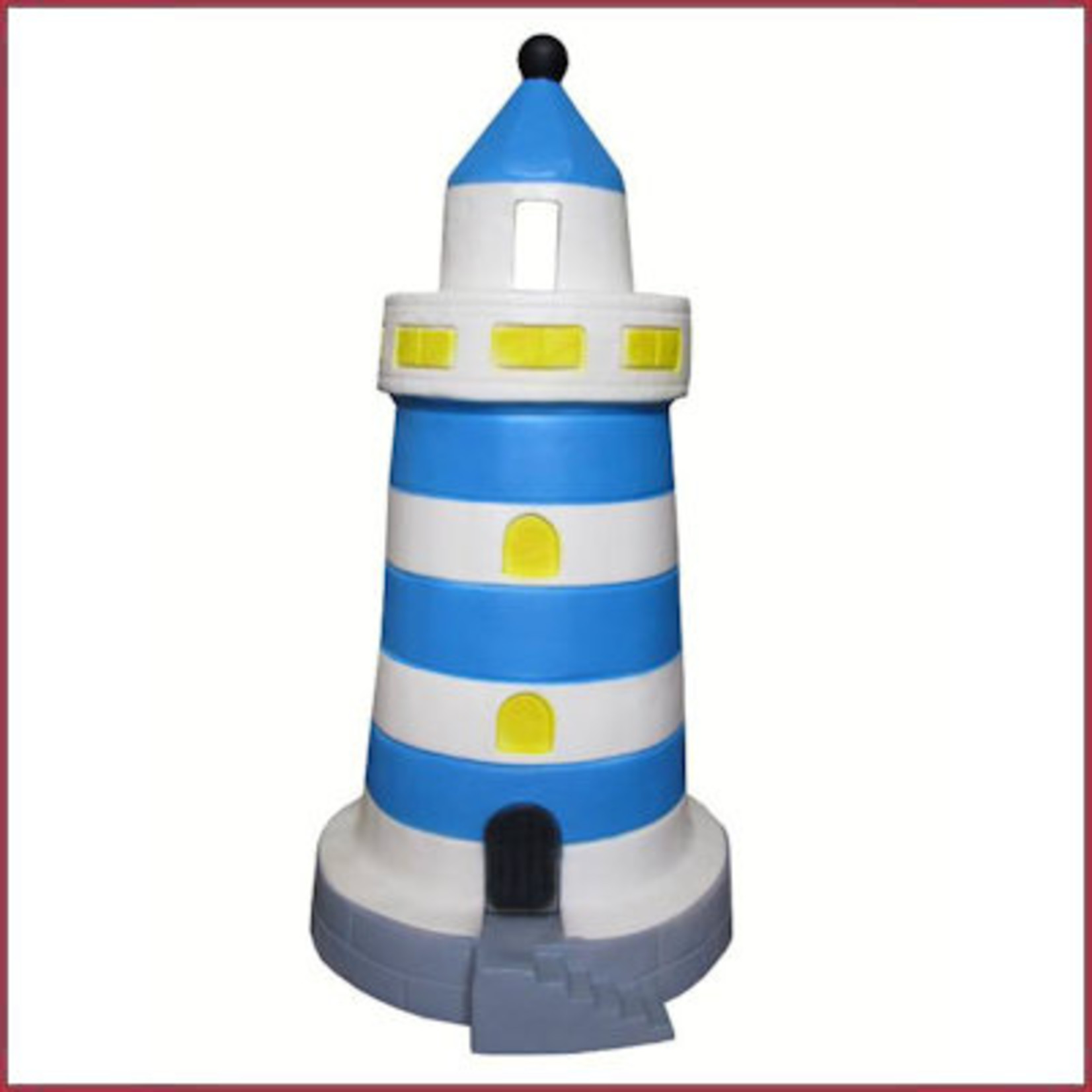 Vuurtorenlamp Blauw LED 35cm