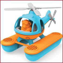 Green Toys Green Toys Waterhelicopter blauwe top