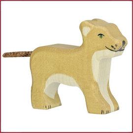Holztiger Holztiger Leeuw klein, staand