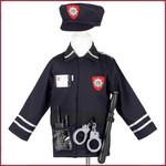 Souza for kids Verkleedpak Politieman 4-7 jr
