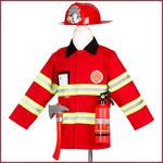 Souza for kids Verkleedpak Brandweerman