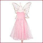 Souza for kids Rosyanne jurk + vleugels, l.roze