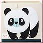 3 Sprouts Opbergbox Panda