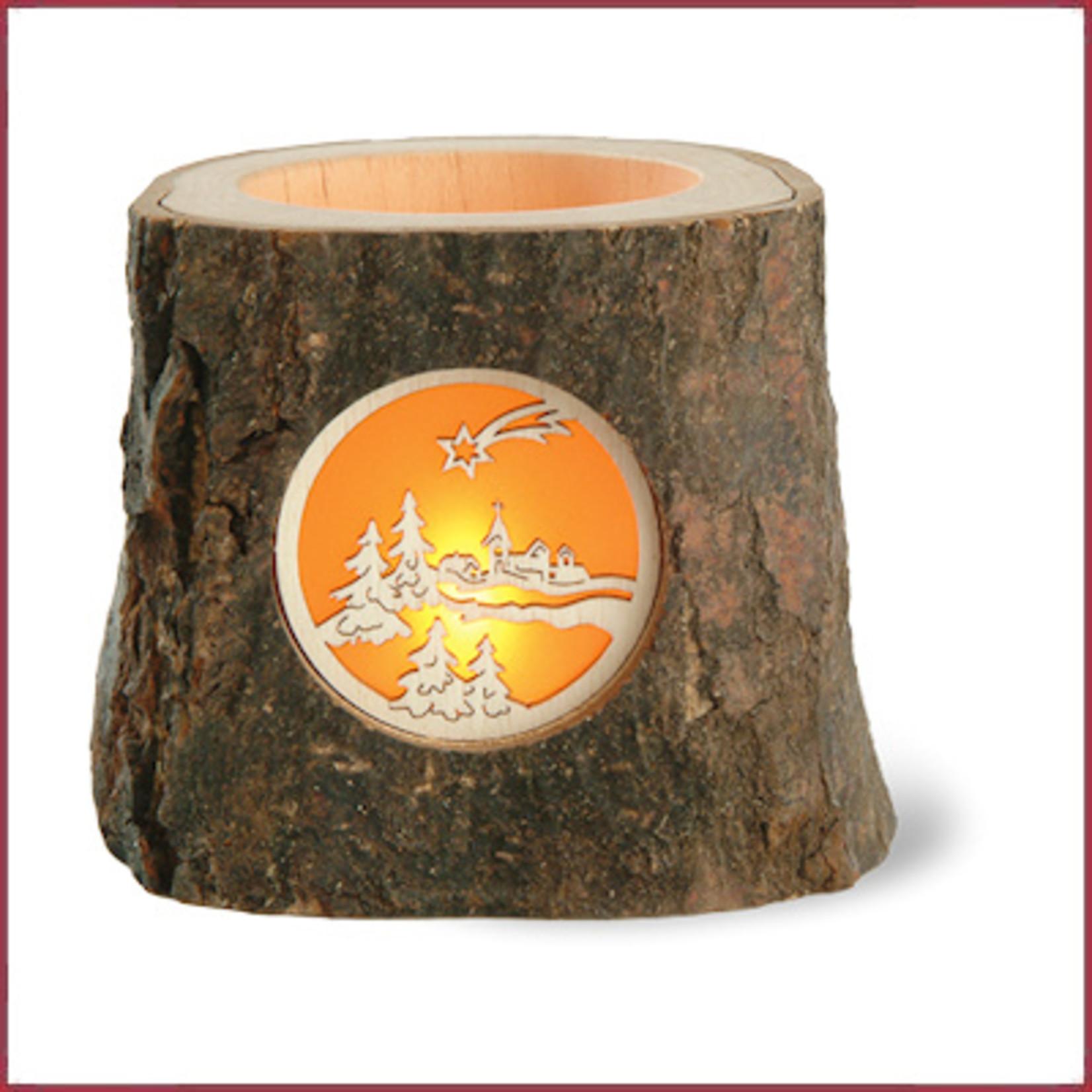 Waldfabrik Waxinelichtje boomschors