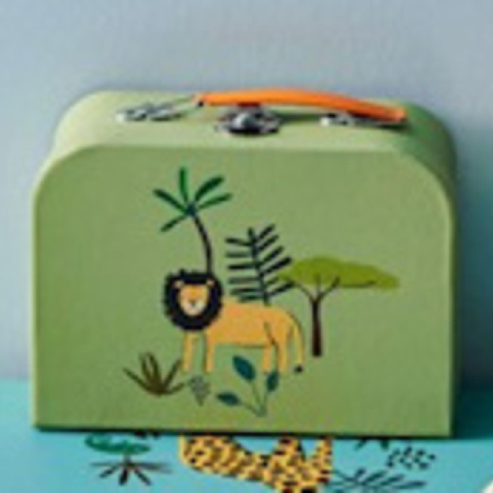 Rice Rice kinder koffertje met oerwoud dieren