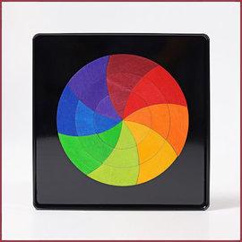 Grimm's Magneetpuzzel Goethes kleurencirkel