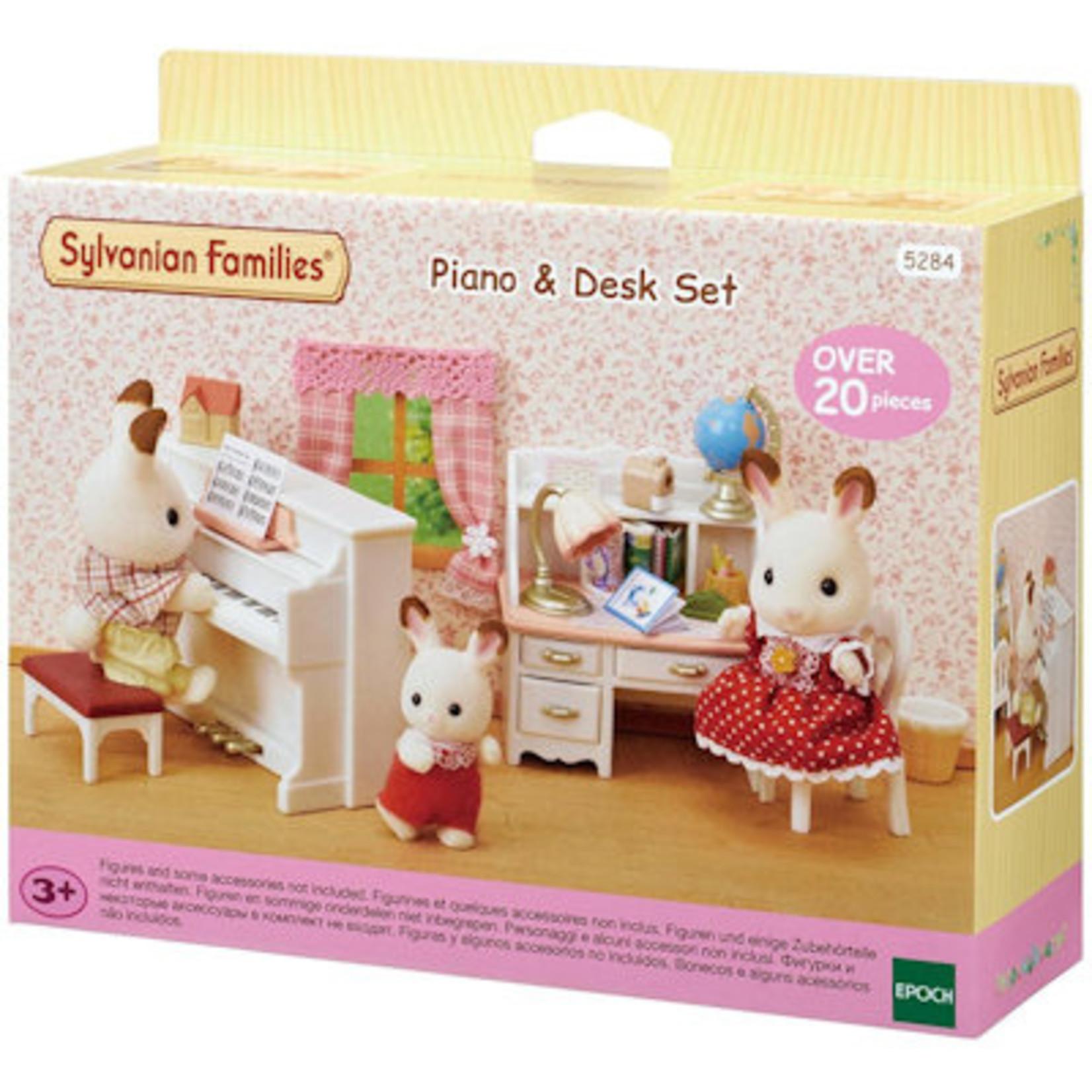 Sylvanian Families Piano & Bureau Set