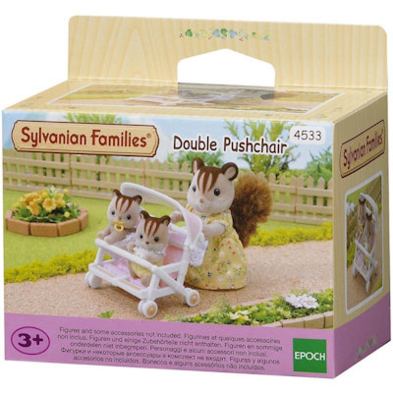 Sylvanian Families Dubbele Kinderwagen