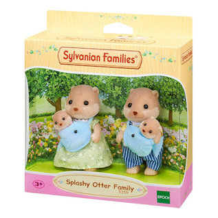 Sylvanian Families Splashy familie Otter
