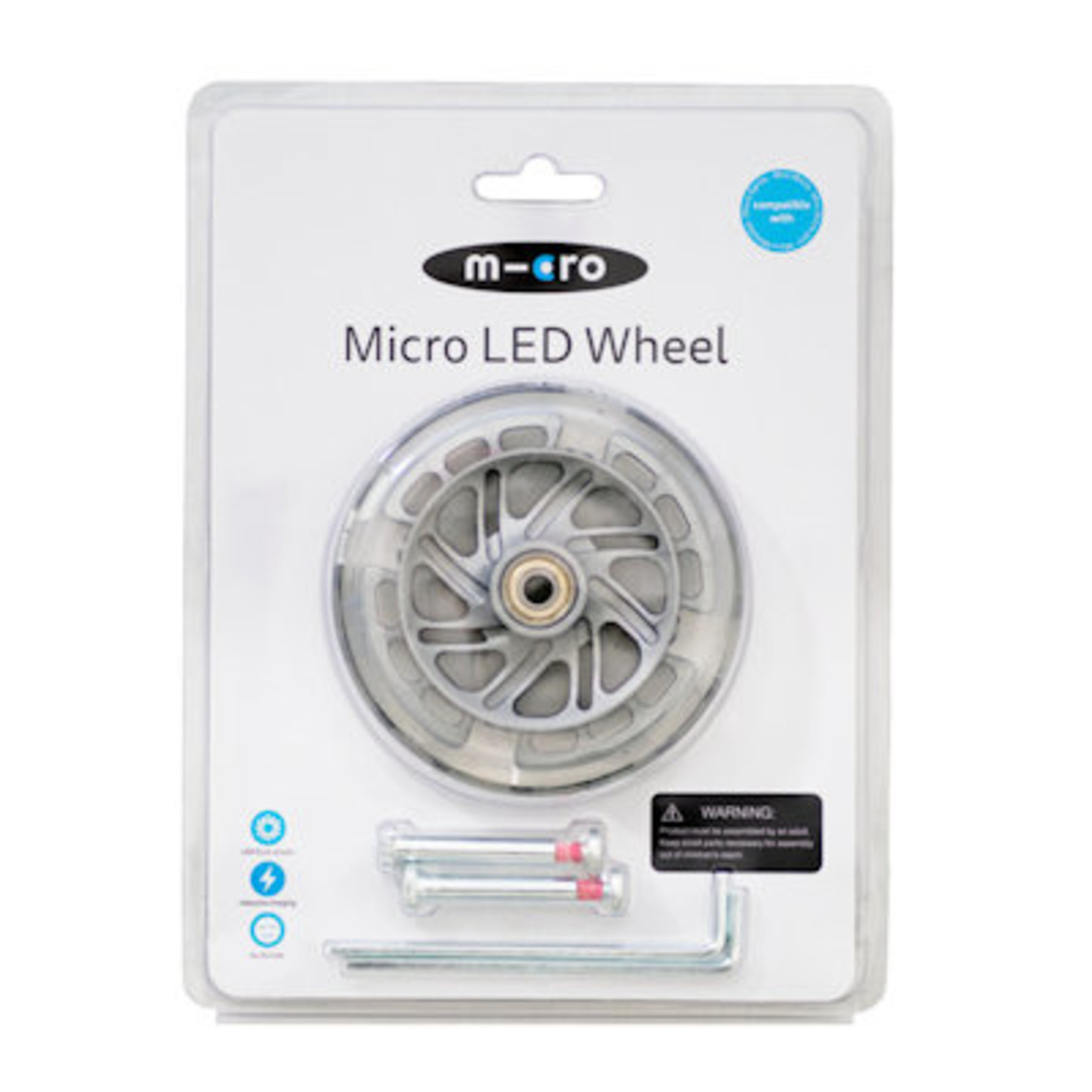 Micro Step LED wielset Mini Micro 120mm