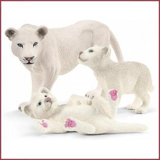 Schleich Moeder leeuw met welpjes